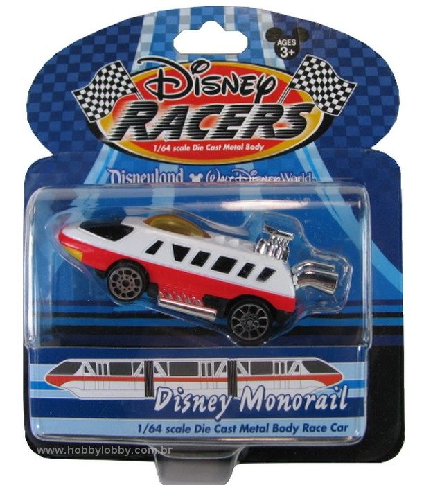 Disney Racers - Disney Monorail  - Hobby Lobby CollectorStore