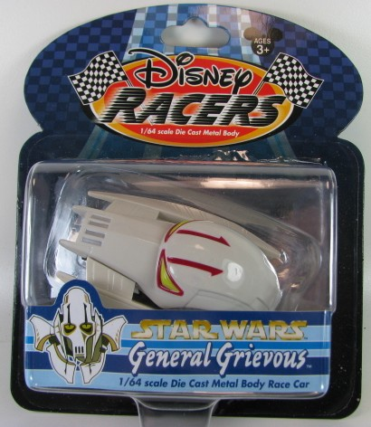 Disney Racers - Star Wars - General Grievous  - Hobby Lobby CollectorStore