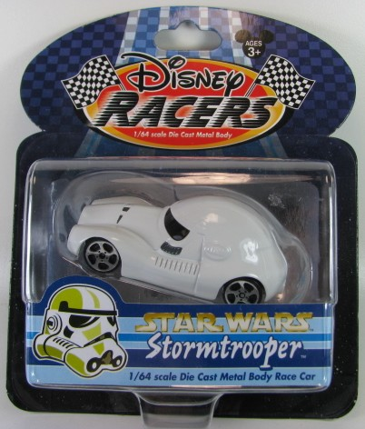 Disney Racers - Star Wars - StormTrooper  - Hobby Lobby CollectorStore