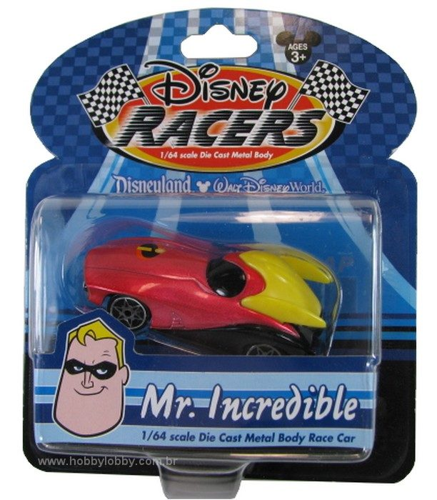 Disney Racers - Mr. Incredible