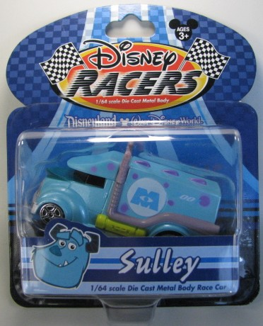 Disney Racers - Sulley  - Hobby Lobby CollectorStore