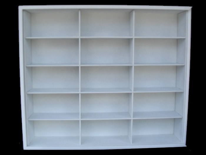 #15 DIECAST DISPLAY CASE - 1:43 [Branco]  - Hobby Lobby CollectorStore