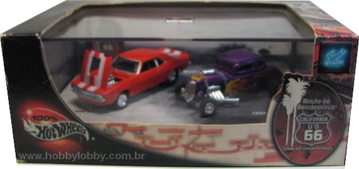 Hot Wheels 100% - Collector Set - Route 66 Rendezvous