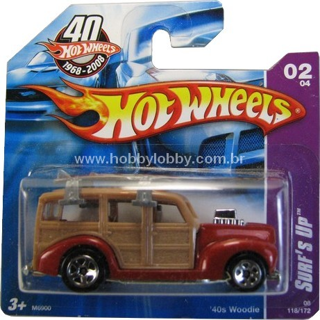 Hot Wheels -  Coleção xxxx - ´40 Woodie  - Hobby Lobby CollectorStore