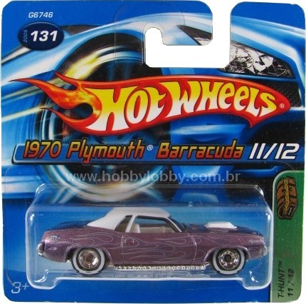 Hot Wheels - Coleção 2005 - 1970 Plymouth Barracuda