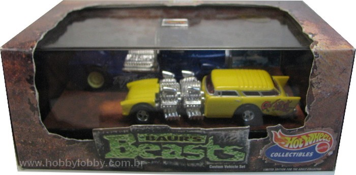 Hot Wheels 100% - Collector Set - Baur´s Beast