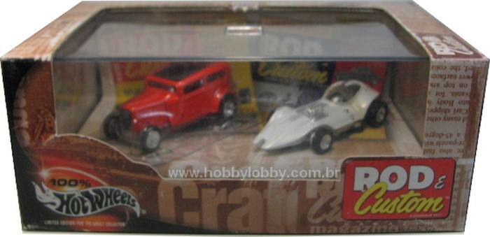 Hot Wheels 100% - Collector Set - Rod & Custom