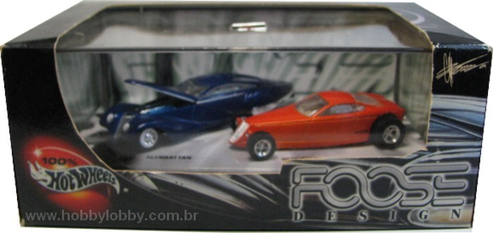 Hot Wheels 100% - Collector Set - Foose Design