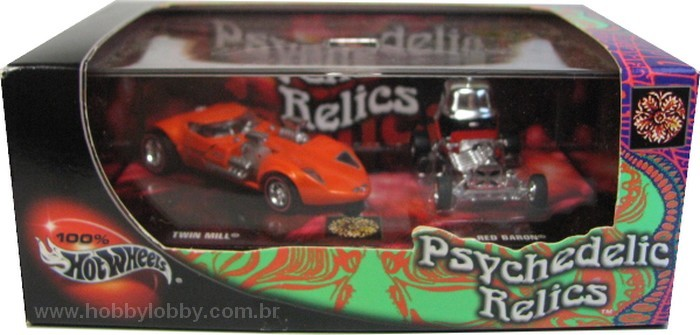 Hot Wheels 100% - Collector Set - Psychedelic Relics