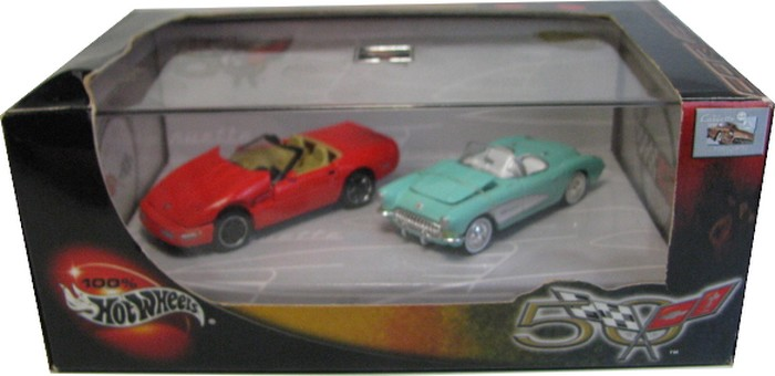 Hot Wheels 100% - Collector Set - Corvette 50th Anniversary III