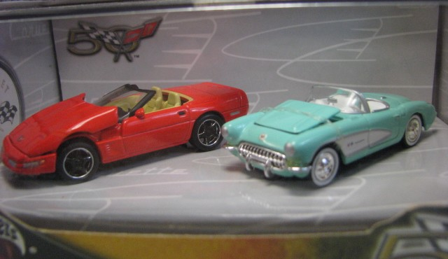 Hot Wheels 100% - Collector Set - Corvette 50th Anniversary III - Hobby Lobby CollectorStore