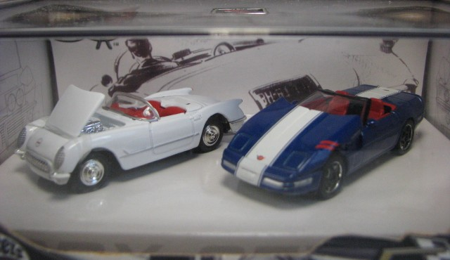 Hot Wheels 100% - Collector Set - Corvette 50th Anniversary II  - Hobby Lobby CollectorStore