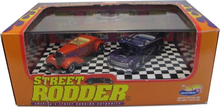 Hot Wheels 100% - Collector Set - Street Rodder