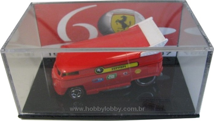 Hot Wheels - Drag Bus Ferrari 60 anos - comemorativa