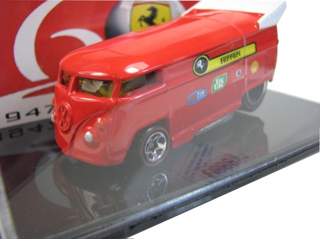 Hot Wheels - Drag Bus Ferrari 60 anos - comemorativa  - Hobby Lobby CollectorStore
