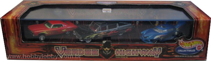 Hot Wheels 100% - Collector Set - Voodoo High Way