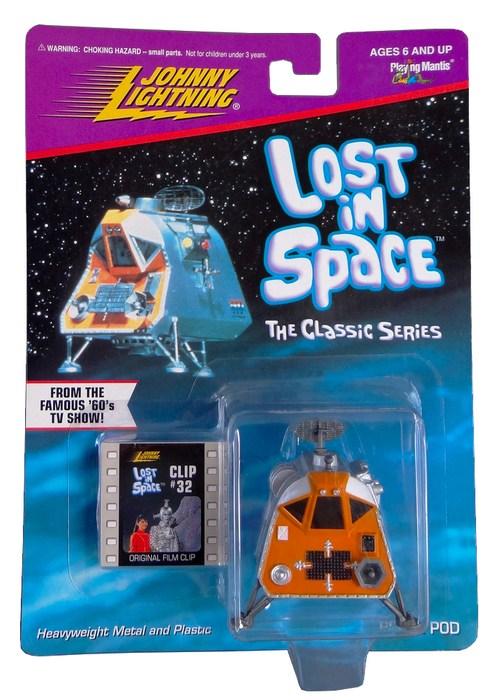 Johnny Lightning - Perdidos no Espaço - Space Pod  - Hobby Lobby CollectorStore