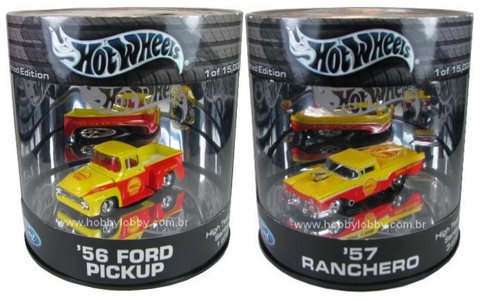 Hot Wheels - Set Oil Can Shell com 4 miniaturas [Set Raro]  - Hobby Lobby CollectorStore
