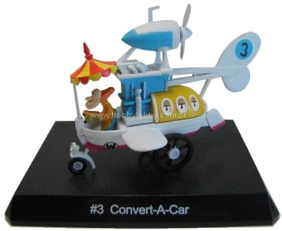 Konami - Wacky Races - #03 Carro Conversível - Professor Áereo