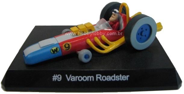 Konami - Wacky Races - #09 Carrão Aerodinamico - Peter Perfeito  - Hobby Lobby CollectorStore