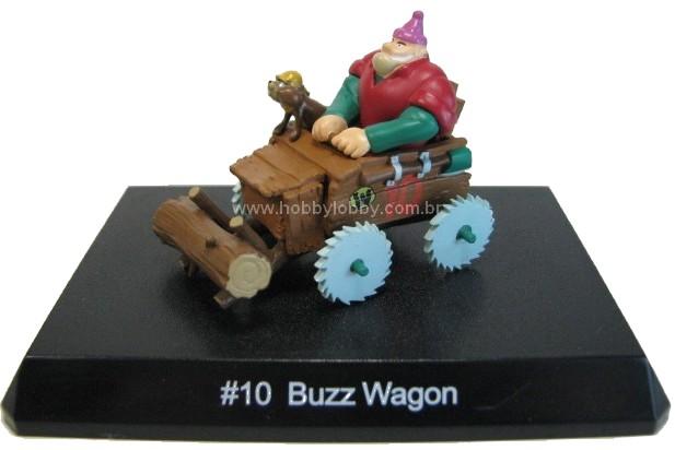 Konami - Wacky Races - #10 Carro-Tronco - Rufus Lenhador  - Hobby Lobby CollectorStore