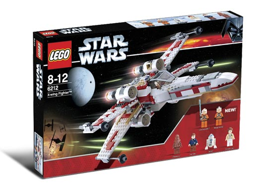 Lego Star Wars - X-Wing Fighter - Ref.:6212