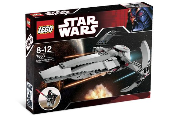 Lego Star Wars - Sith Infiltrator - Ref.:7663  - Hobby Lobby CollectorStore