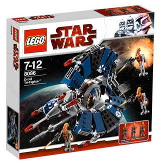 Lego Star Wars - Droid Tri-Fighter - Ref.:8086  - Hobby Lobby CollectorStore