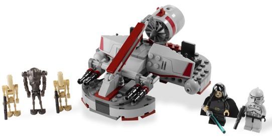 Lego Star Wars - Republic Swamp Speeder - Ref.:8091  - Hobby Lobby CollectorStore