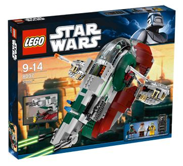 Lego Star Wars - Slave I - Ref.:8097  - Hobby Lobby CollectorStore