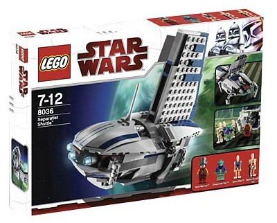 Lego Star Wars - Separatists Shuttle - Ref:8036