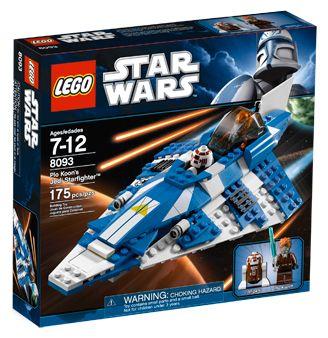 Lego Star Wars - Plo Koon´s Starfighter - Ref.:8093