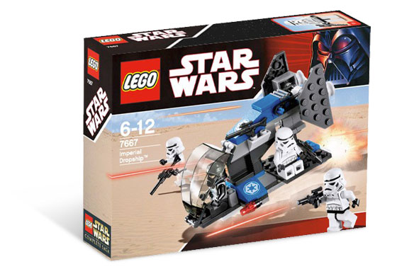 Lego Star Wars - Imperial Dropship - Ref.:7667  - Hobby Lobby CollectorStore