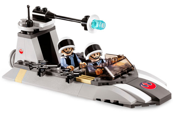 Lego Star Wars - Rebel Scout Speeder - Ref.:7668  - Hobby Lobby CollectorStore
