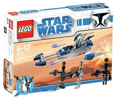 Lego Star Wars - Assassin Droids Battle Pack - Ref.:8015  - Hobby Lobby CollectorStore