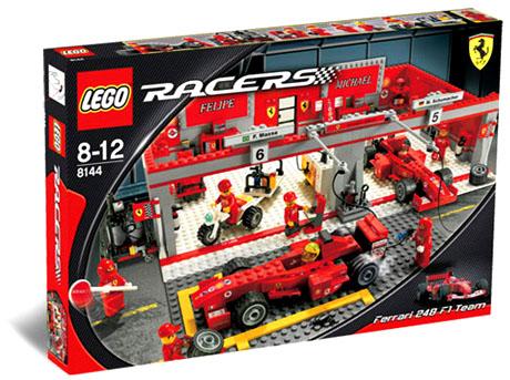 Lego Racers - Ferrari F1 Team - Ref.:8144