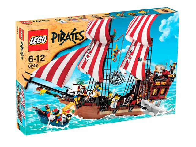 Lego Pirates - Brickbeard´s Bounty - Ref: 6243