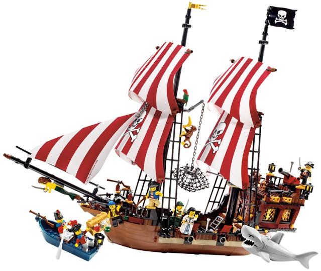 Lego Pirates - Brickbeard´s Bounty - Ref: 6243  - Hobby Lobby CollectorStore