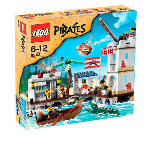 Lego Pirates - Soldiers´ Fort - Ref: 6242
