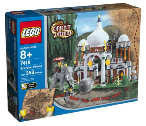 Lego - Orient Expedition - Scorpion Palace [ Raridade ]  - Hobby Lobby CollectorStore