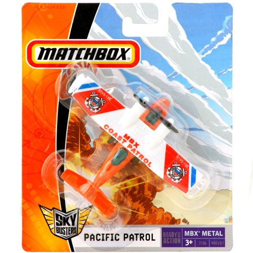 Matchbox - Sky Busters - MBX COAST PACIFIC PATROL  - Hobby Lobby CollectorStore
