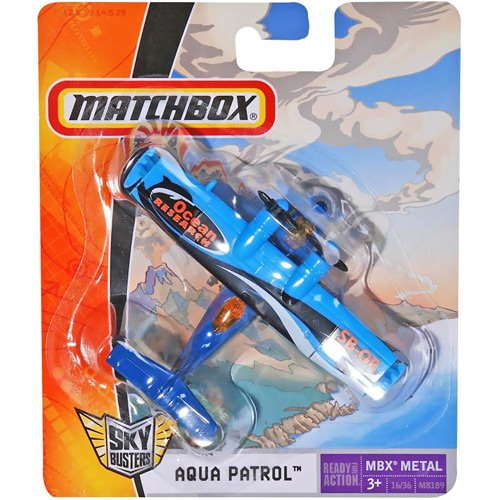 Matchbox - Sky Busters - AQUA PATROL  - Hobby Lobby CollectorStore