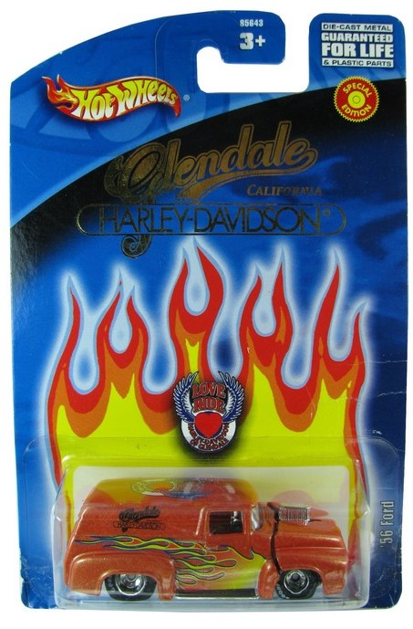 Hot Wheels - ´56 Ford - Harley-Davison