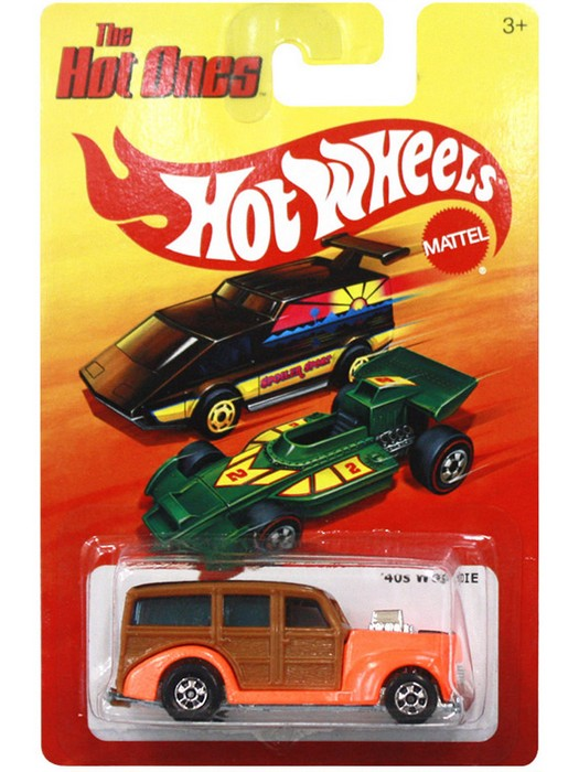 Hot Wheels - The Hot Ones - ´40s Woodie