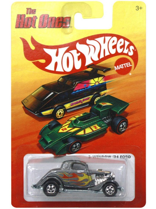 Hot Wheels - The Hot Ones - 3-Window 1934 Ford  - Hobby Lobby CollectorStore