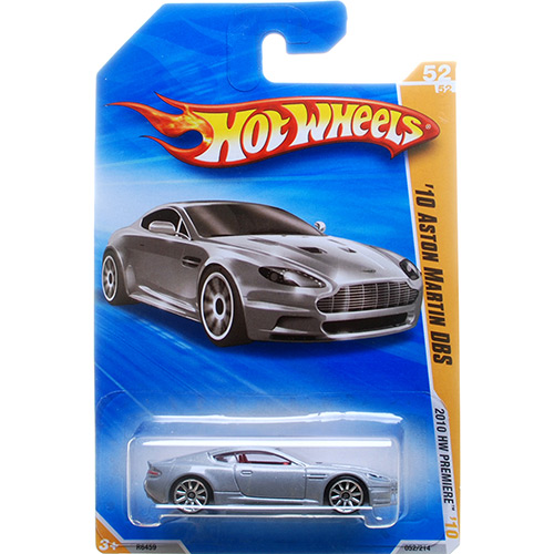 Hot Wheels - Coleção 2010 - ´10 Aston Martin DBS - Mattel