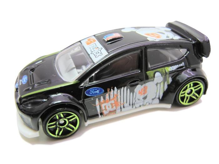 Hot Wheels - Coleção 2011 - ´11 Ken Block Ford Fiesta  - Hobby Lobby CollectorStore