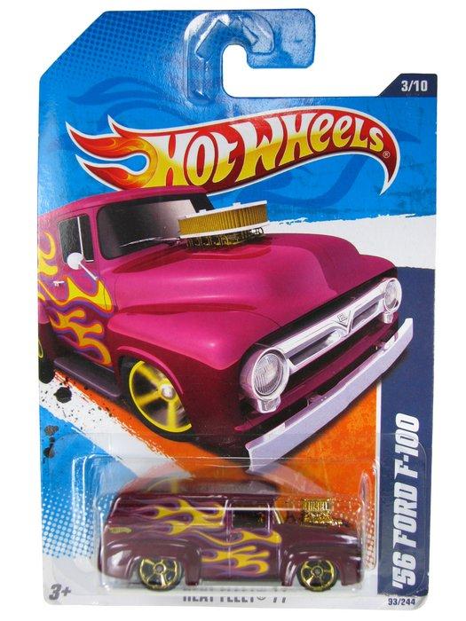Hot Wheels - Coleção 2011 - ´56 Ford F-100
