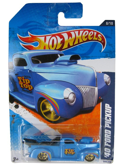 Hot Wheels - Coleção 2010 - ´40 FORD PICKUP  - Hobby Lobby CollectorStore