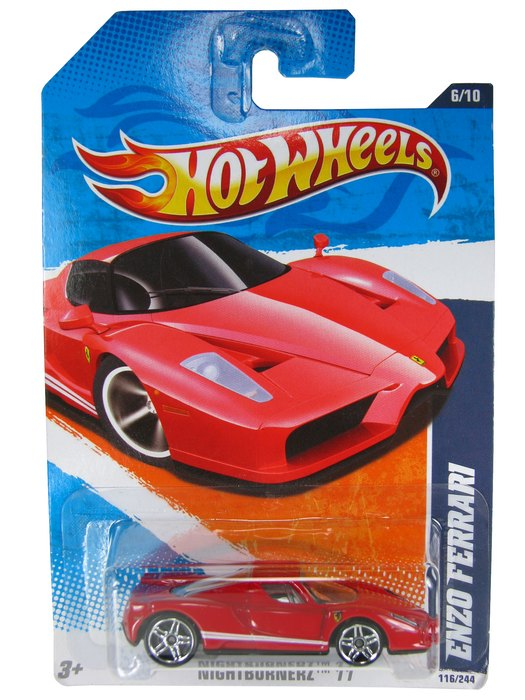 Hot Wheels - Coleção 2011 - Enzo Ferrari  - Hobby Lobby CollectorStore